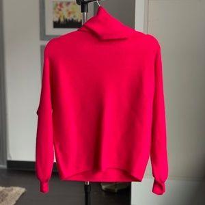 Zara Sweaters - Zara shawl neck, puffy sleeve sweater